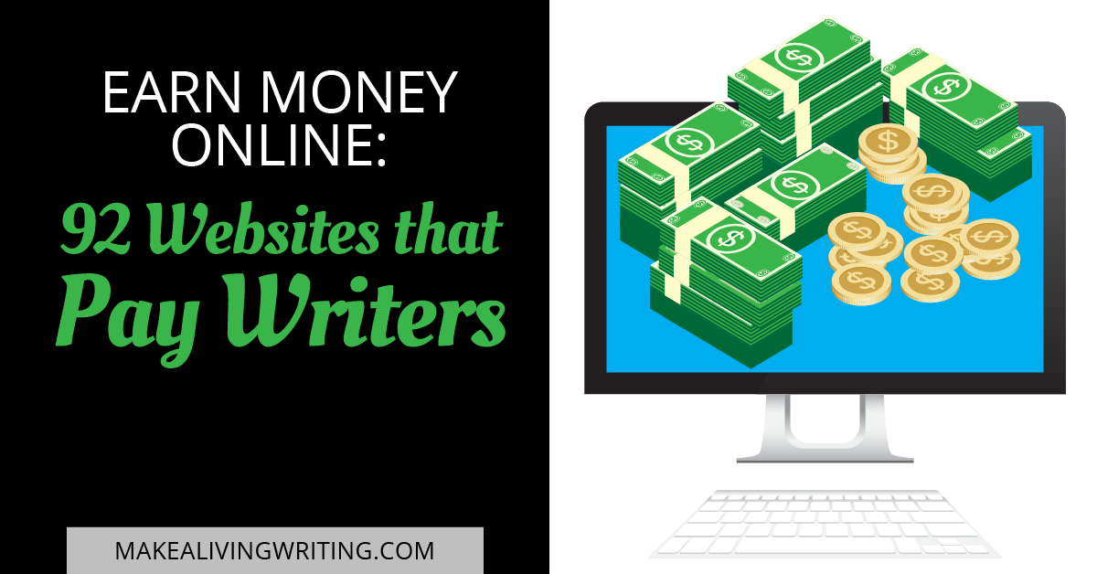 earn money online websites that pay writers