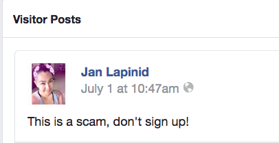 Writing scams: MWJ comment