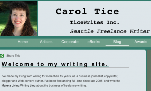 How I Fixed My Sucky Writer Website. Makealivingwriting.com