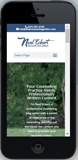 Writer Websites: Neal Eckert