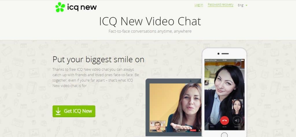 Video Chat: ICQ