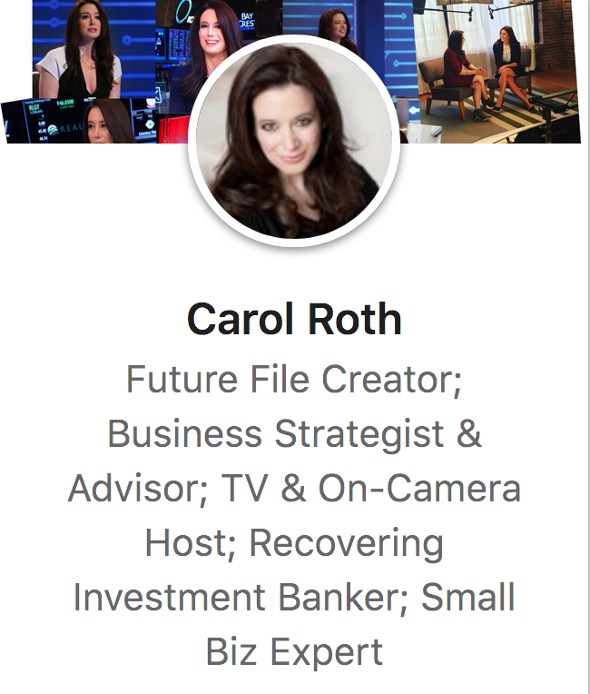 LinkedIn influencers -- Carol Roth