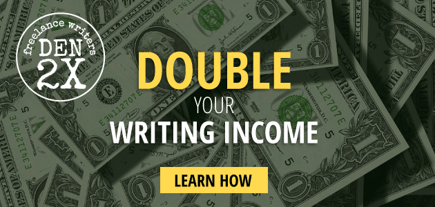 Freelance Writers Den: Learn how to grow your income.